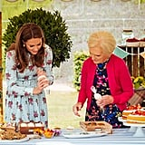 Kate Middleton and Mary Berry Baking on A Berry Royal Christmas
