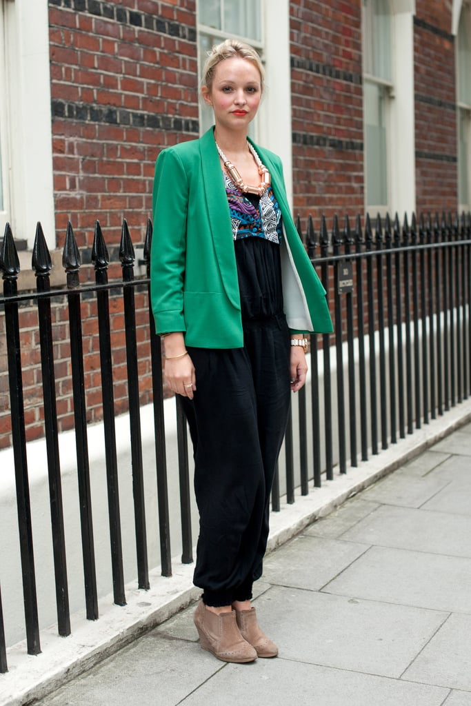 Daisy Sheppard at the Spring 2013 London Collections: Men in London