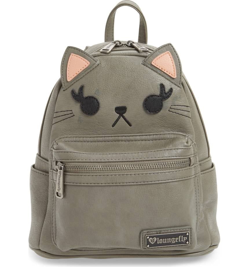 Loungefly Cat Faux Leather Backpack