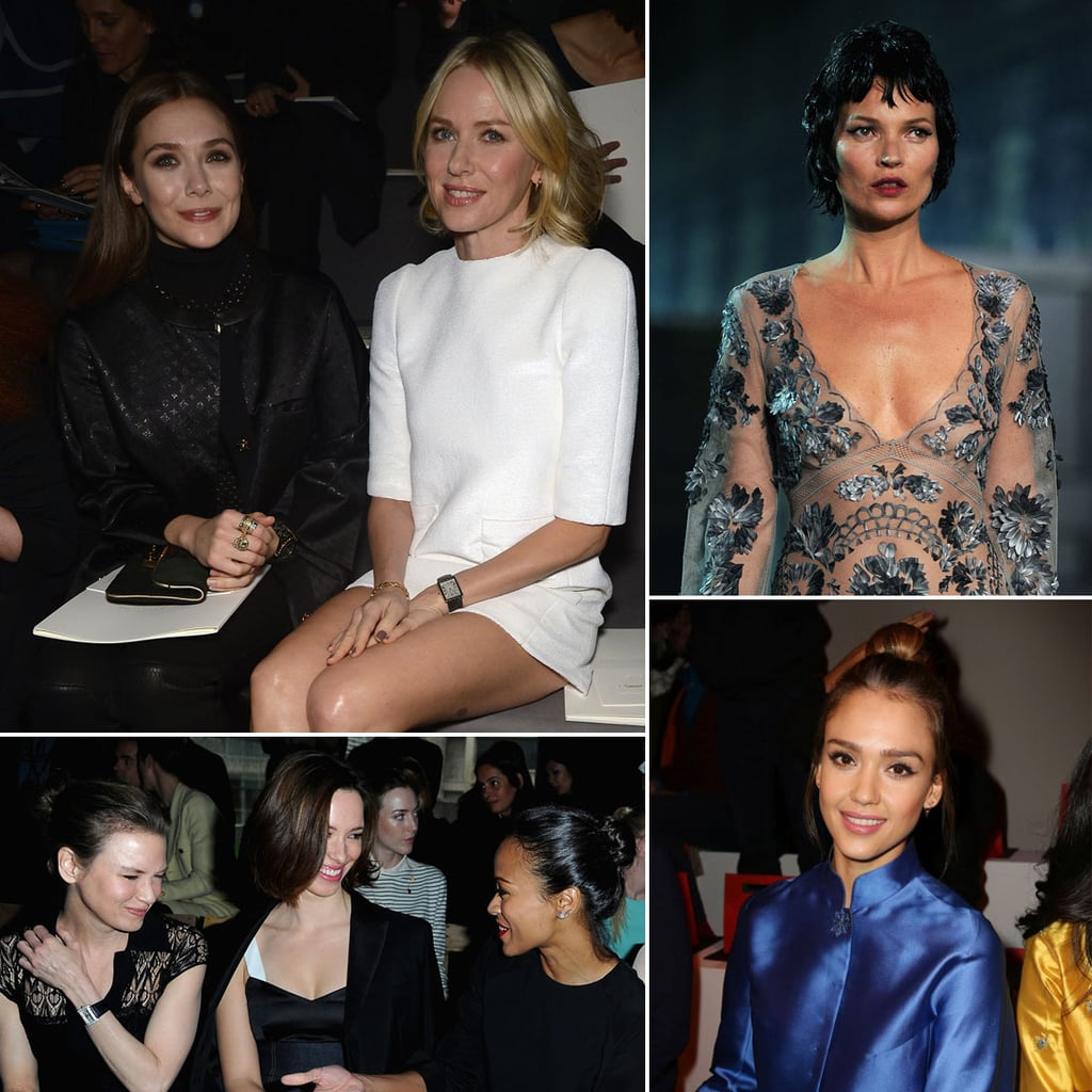 See All the Stars at Paris Fashion Week