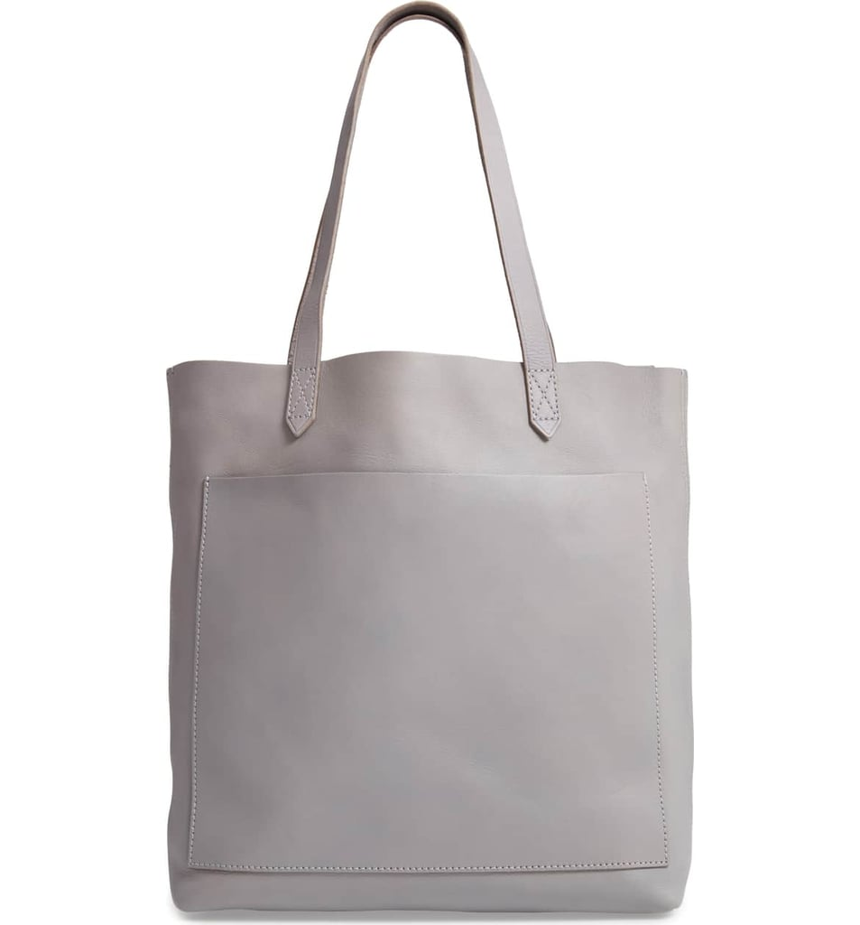 5ed8e3610 Madewell Medium Leather Transport Tote | Best Gifts For 18-Year-Olds ...