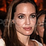 Angelina took time out for fans in Switzerland.