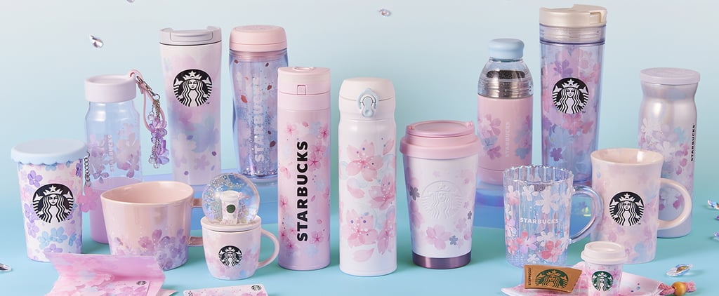 Starbucks Japan Has Cherry-Blossom Tumblers and Mugs