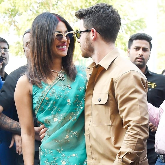 Nick Jonas and Priyanka Chopra Out in India After Wedding