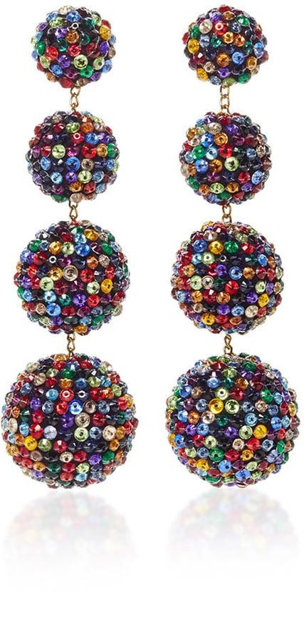Rebecca de Ravenel's Tutti Earrings ($695) have become a fashion-girl favorite with good reason — they scream fun.