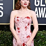 Jane Levy at the 2020 Golden Globes