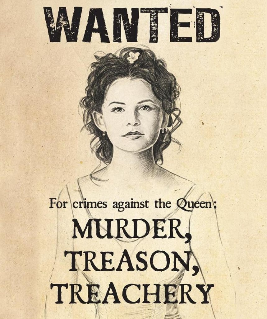 Snow White Wanted Poster ($18)