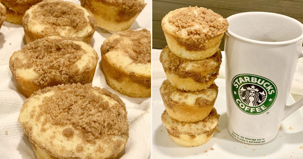 Re-Create Starbucks's Cinnamon Coffee Cake at Home With This Delicious Copycat Recipe