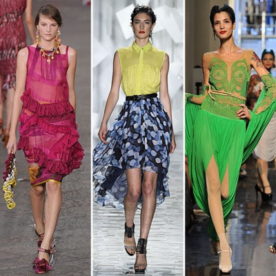 The Top International Colour Trends For Spring 2012