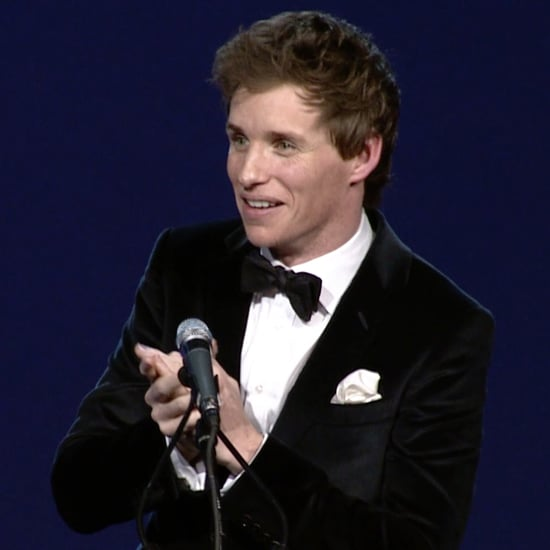 Eddie Redmayne's Speech at Palm Springs Film Fest 2015
