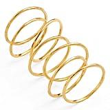 """Gorjana """"G Ring"""" Rings, Set of 3 ($45)"""