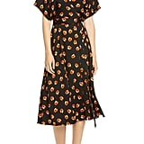 DVF Kelsey Floral Stretch Silk Wrap Dress