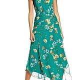 Harlyn Strapless Floral Midi Dress