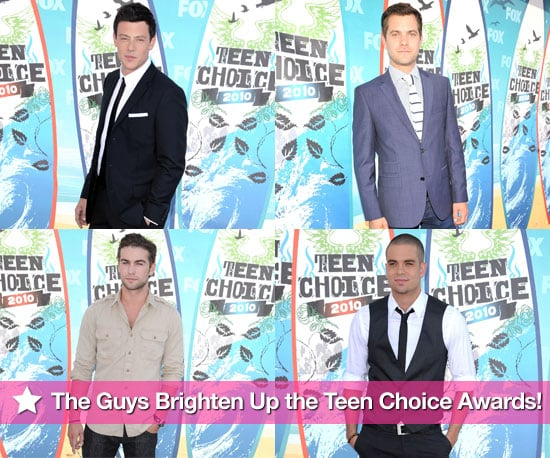 Pictures of Chace Crawford, Joshua Jackson, Cory Monteith and More on the Red Carpet at TCAs