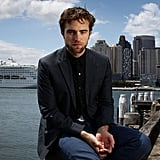 Robert Pattinson posed for photos in Sydney.