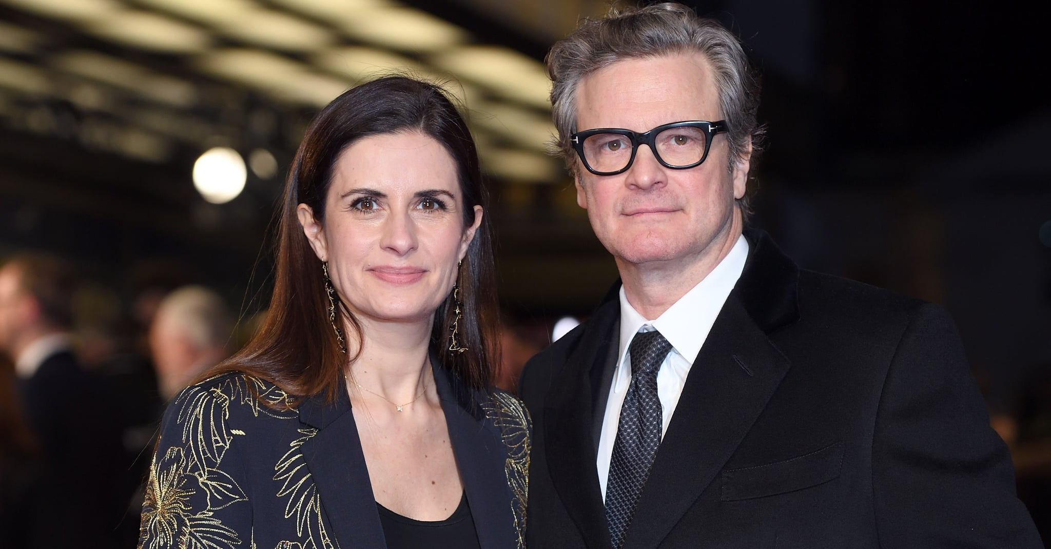 Colin Firth's wife admits affair with couple's alleged stalker