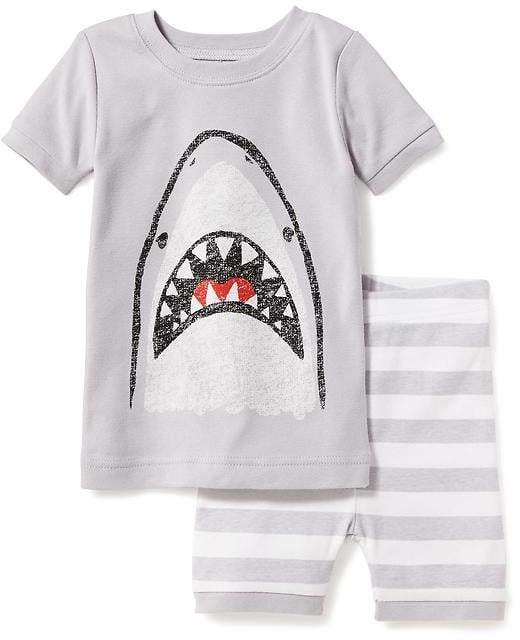 Shark Graphic Sleep Set