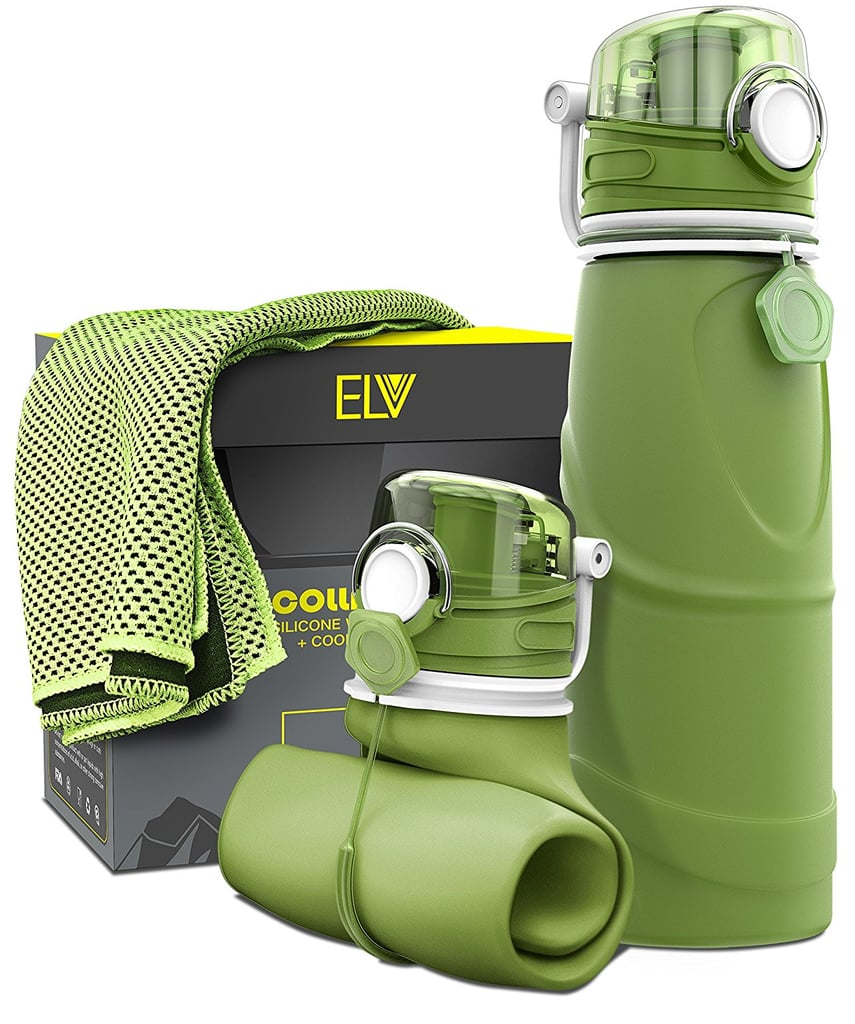 Collapsible Water Bottle and Cooling Towel