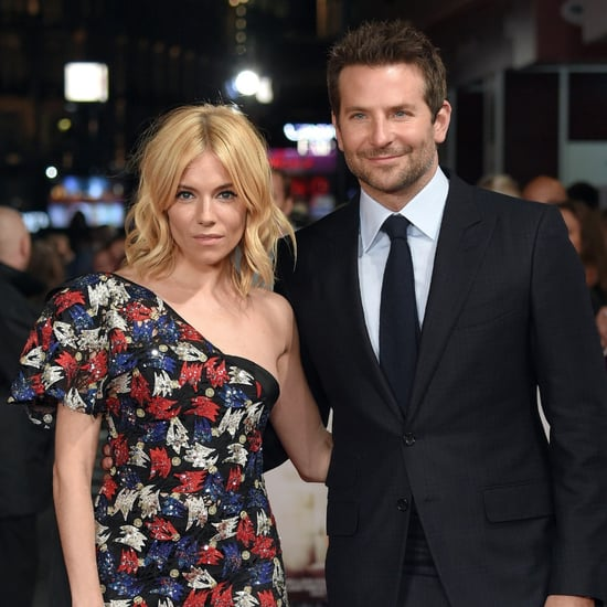 Sienna Miller & Bradley Cooper at the London Burnt Premiere