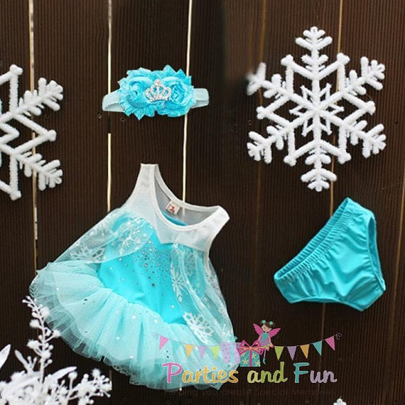 This tiny Princess Elsa costume ($30) will have your little nugget looking like a fluffy ice princess — and have you seen those bloomers? We can't deal.