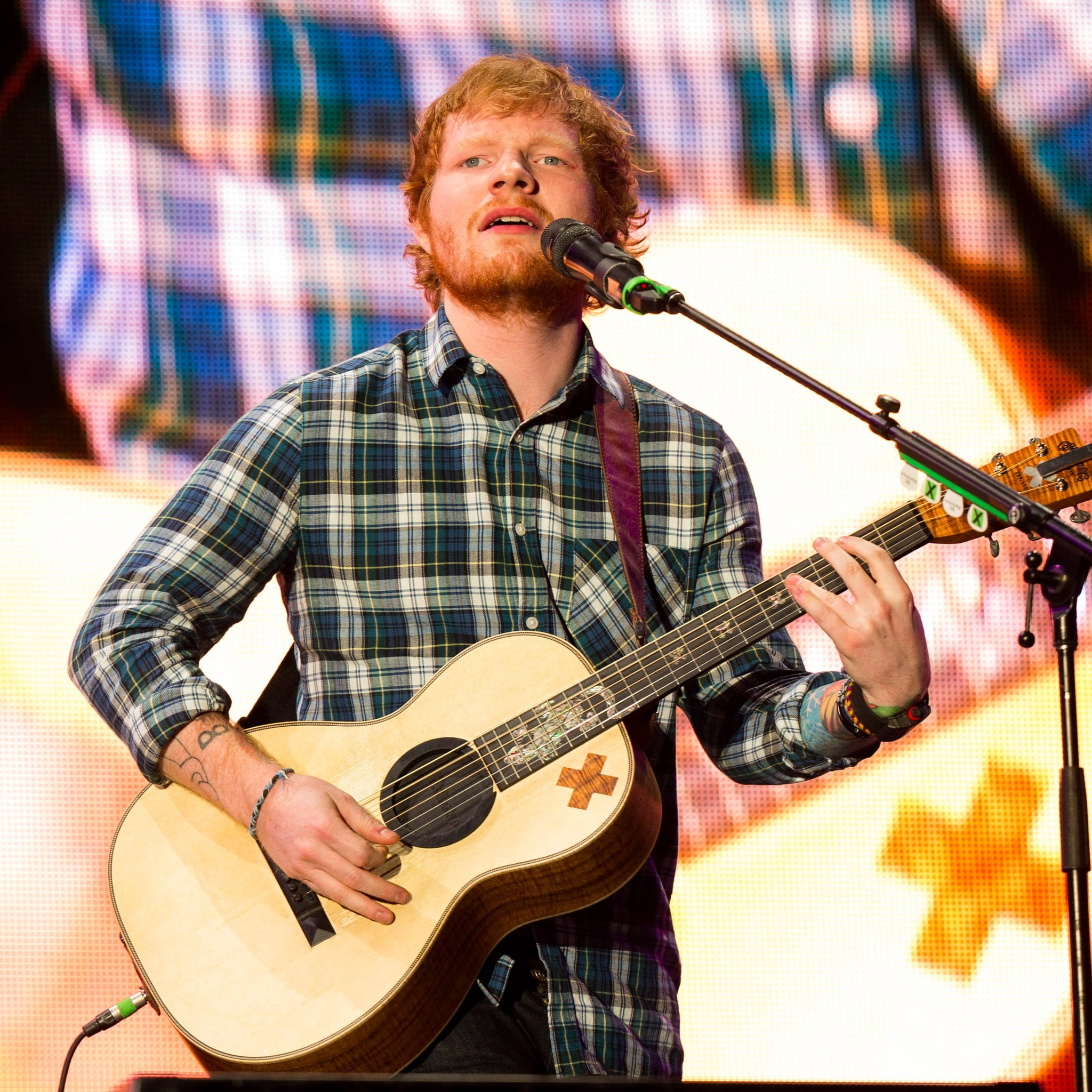 What Is Ed Sheerans Small Bump Song About Popsugar Entertainment