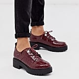 New Look Chunky Hiker Lace-Up Flat Shoes