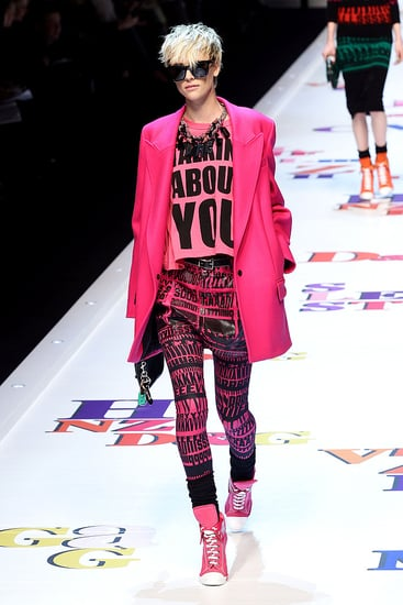 Fall 2011 Milan Fashion Week: D&G