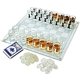 Maxam 3-in-1 Shot Glass Chess Set