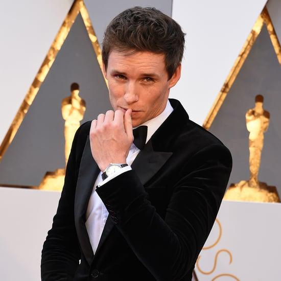 Eddie Redmayne at the Oscars 2016