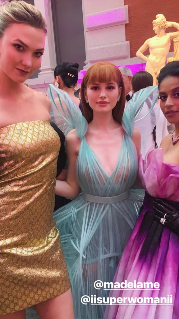Karlie Kloss Looked Chic With Madelaine Petsch And Lilly Singh