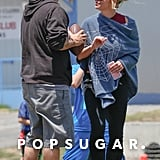 Britney Spears and Kevin Federline at Sons' Soccer Game 2016