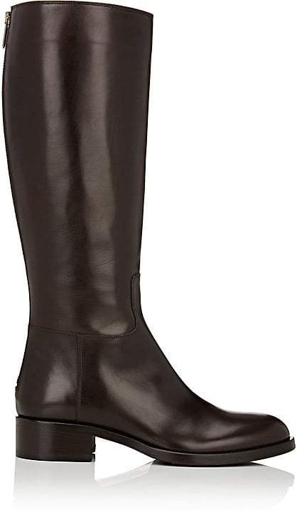 Barneys New York Back-Zip Riding Boots