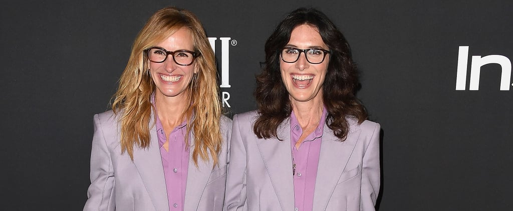 Julia Roberts Matching Outfit With Stylist Elizabeth Stewart
