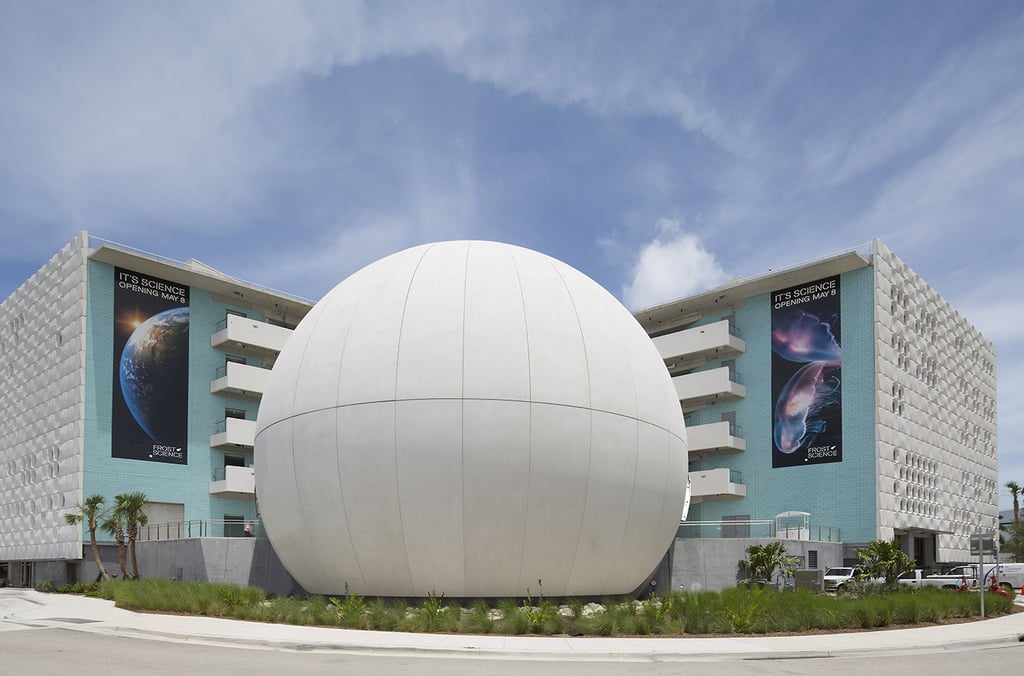 Phillip and Patricia Frost Museum of Science in Miami