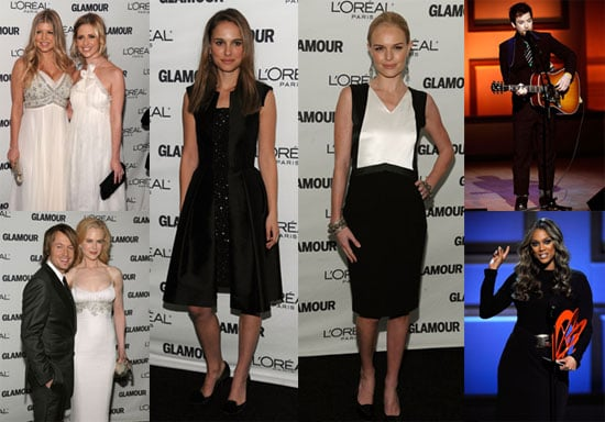 Red Carpet Photos of Glamour's Women of the Year Awards Including Fergie, Nicole Kidman, Kate Bosworth, Natalie Portman and more