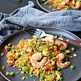 Keto: Shrimp Cauliflower Fried Rice