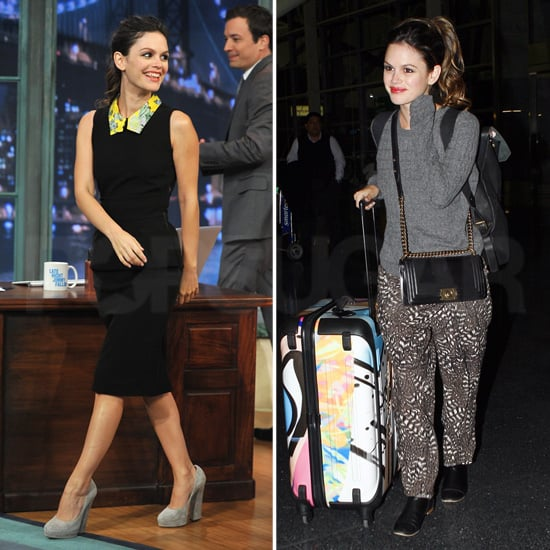 Rachel Bilson Late Night With Jimmy Fallon Pictures
