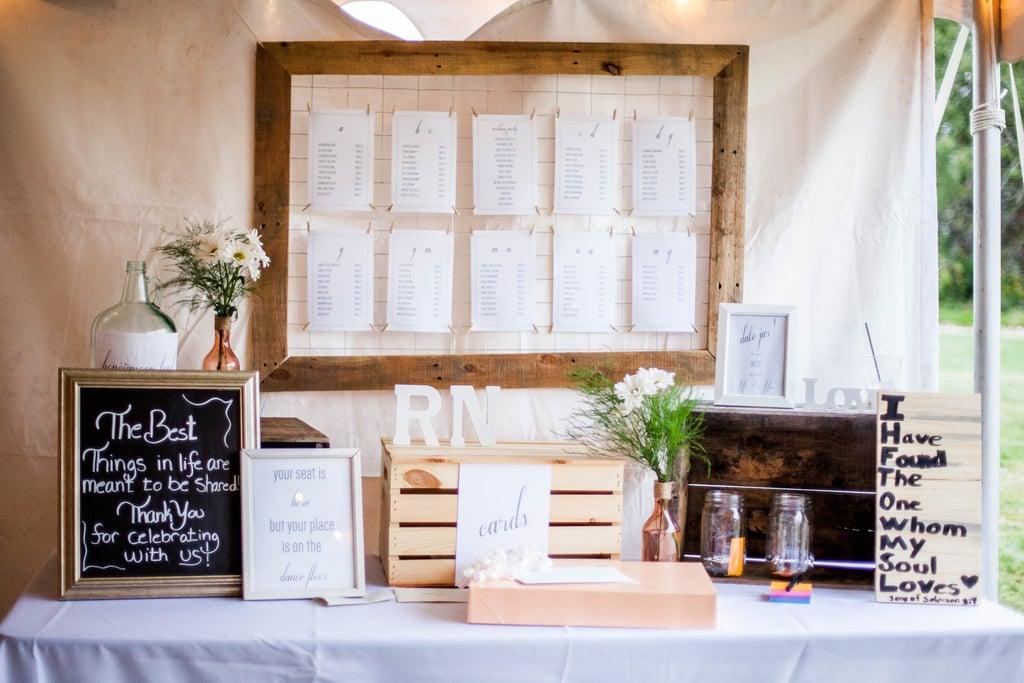 Wedding Reception Printables Popsugar Smart Living