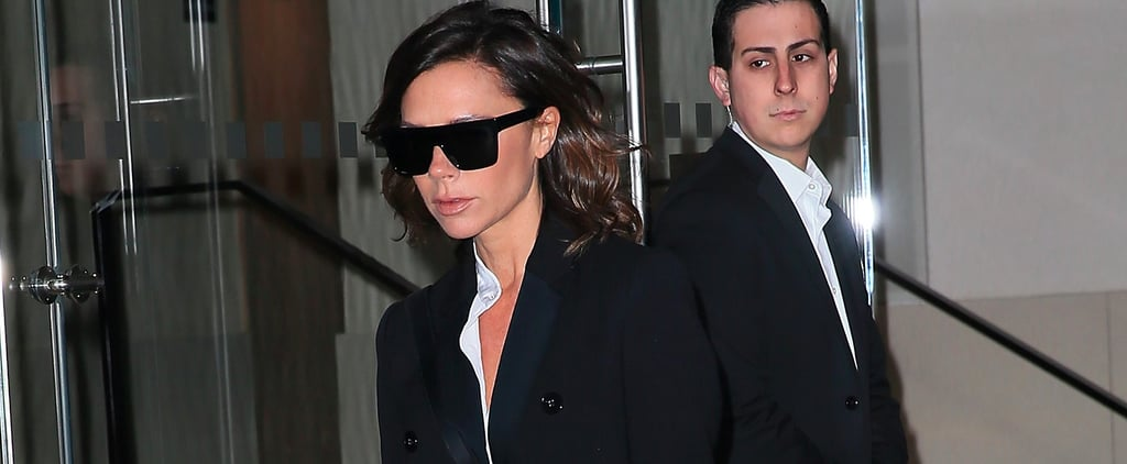 Victoria Beckham Wears This 1 Comfy Shoe When Prepping For Fashion Week