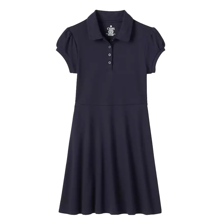 Fit & Flare Short-Sleeved Dress