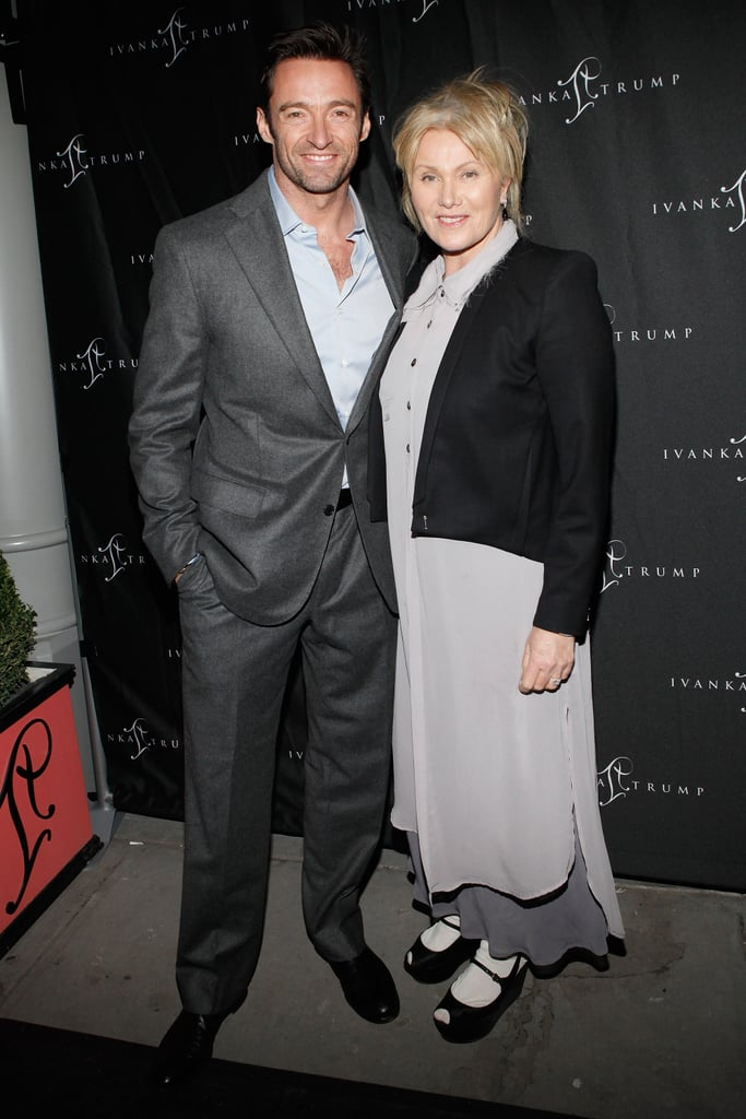 Hugh Jackman and wife Deborra-Lee Furness headed out to celebrate Ivanka Trump.