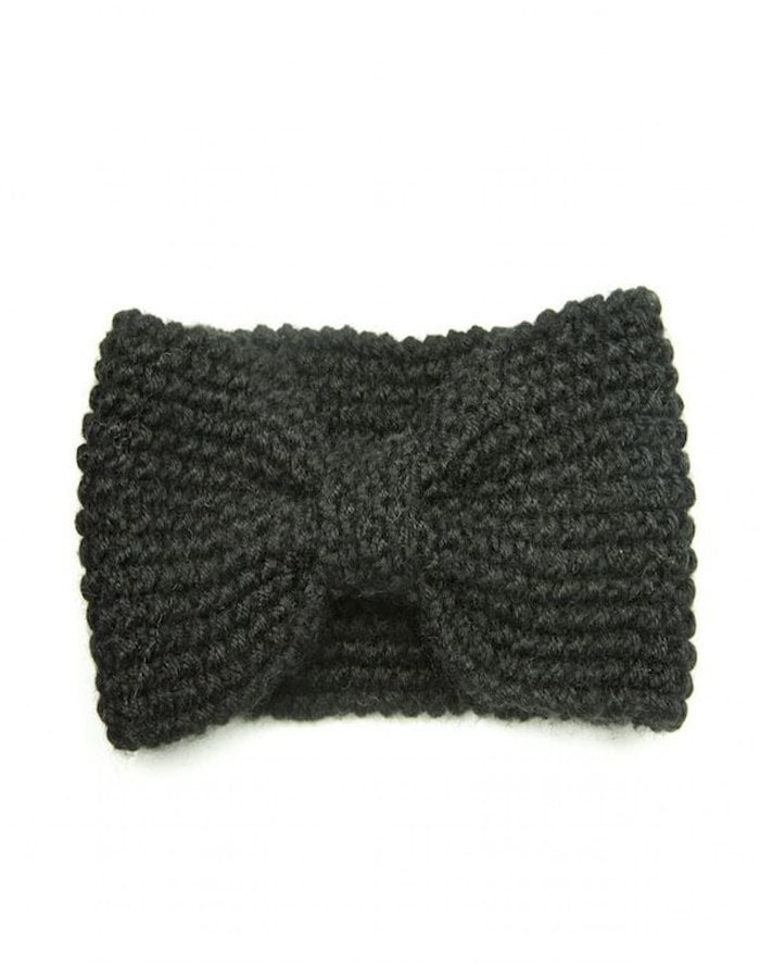 Jolie Wool Bow Headband