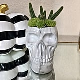 Marble decor is the key to our hearts, and this trendy planter ($18) is no exception.