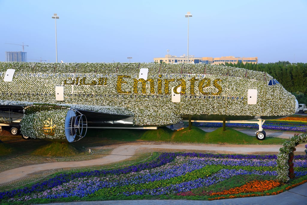 World's Largest Floral Installation at Dubai Miracle Garden