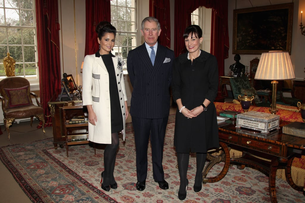 Pictures of Cheryl Cole with Prince Charles For The Cheryl Cole Foundation and The Prince's Trust at Clarence House