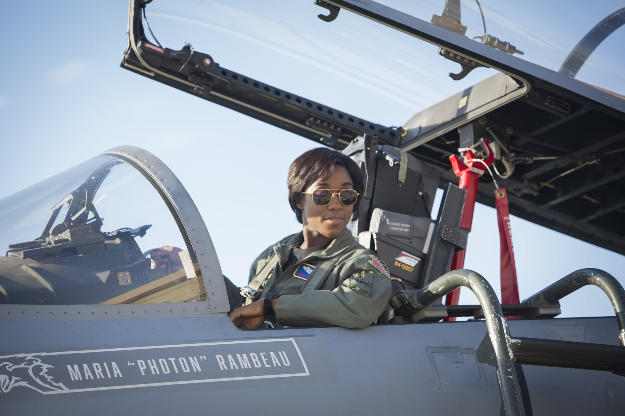 Marvel Studios' CAPTAIN MARVEL..Maria Rambeau (Lashana Lynch)..Photo: Chuck Zlotnick..©Marvel Studios 2019