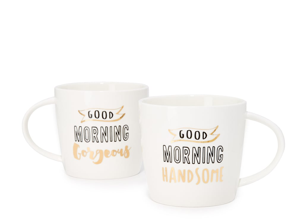 Slant Collections Good Morning Coffee Mug Set