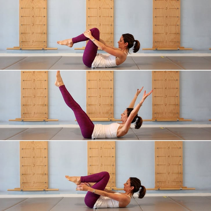 8-Minute Flat-Belly Workout With Astrid Swan - YouTube