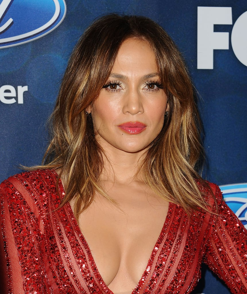 Jennifer Lopez Straight Lob Celebrity Haircuts For Autumn 2016