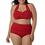 Catalina High-Waisted Bikini Two-Piece Swimsuit Set